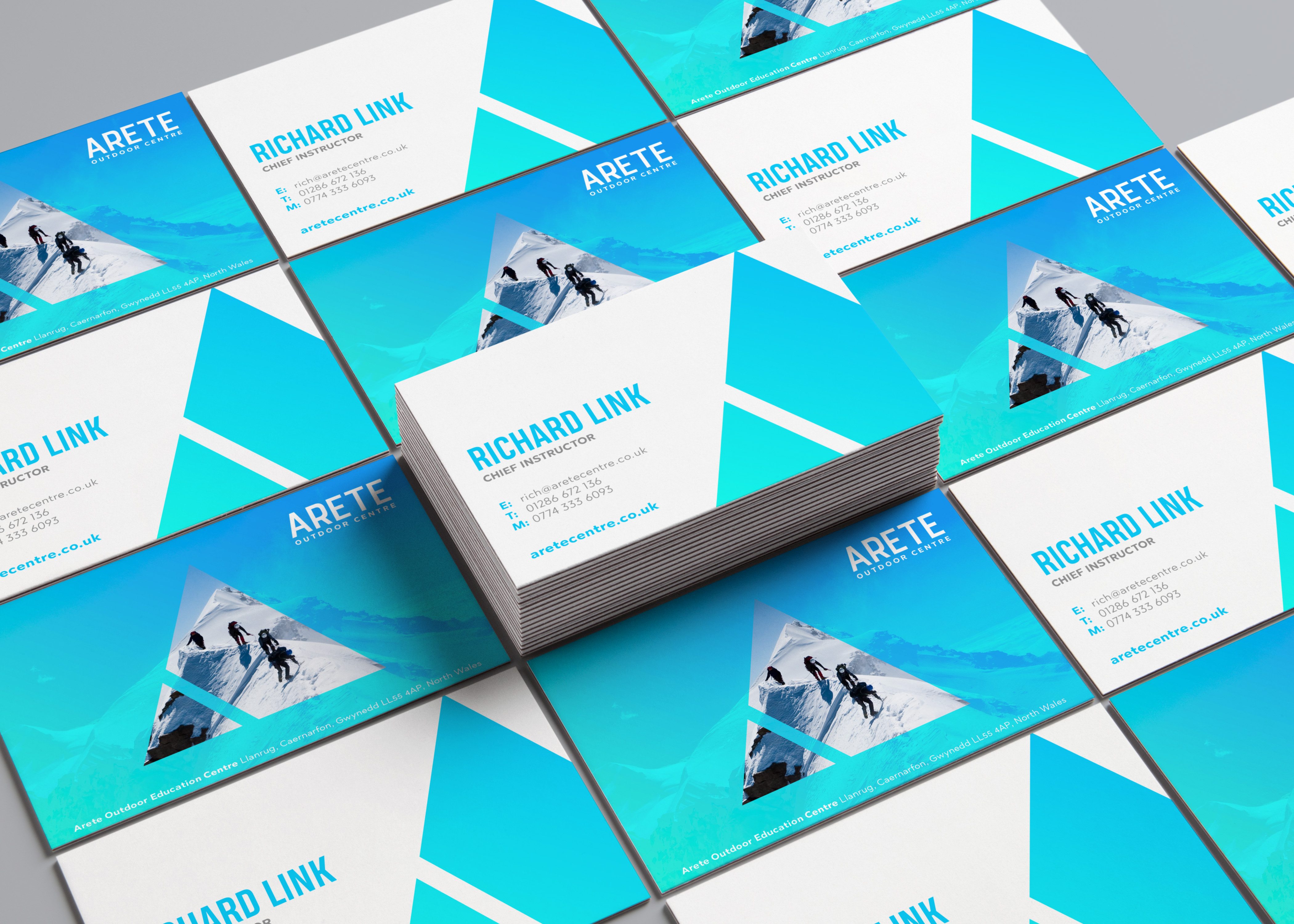 Arete Business Cards