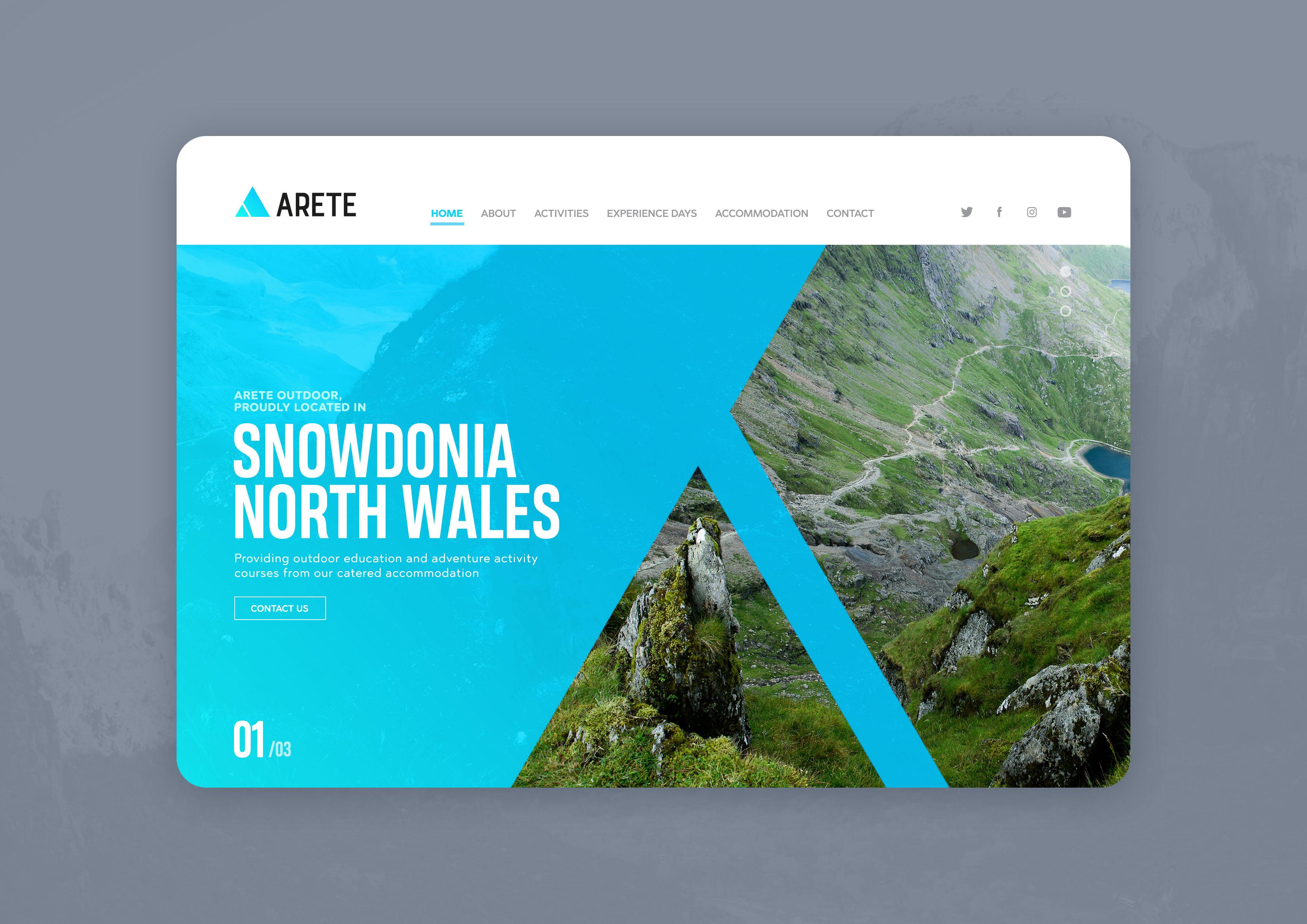 Arete website