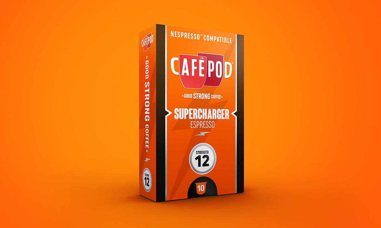 CaféPod Rebrand