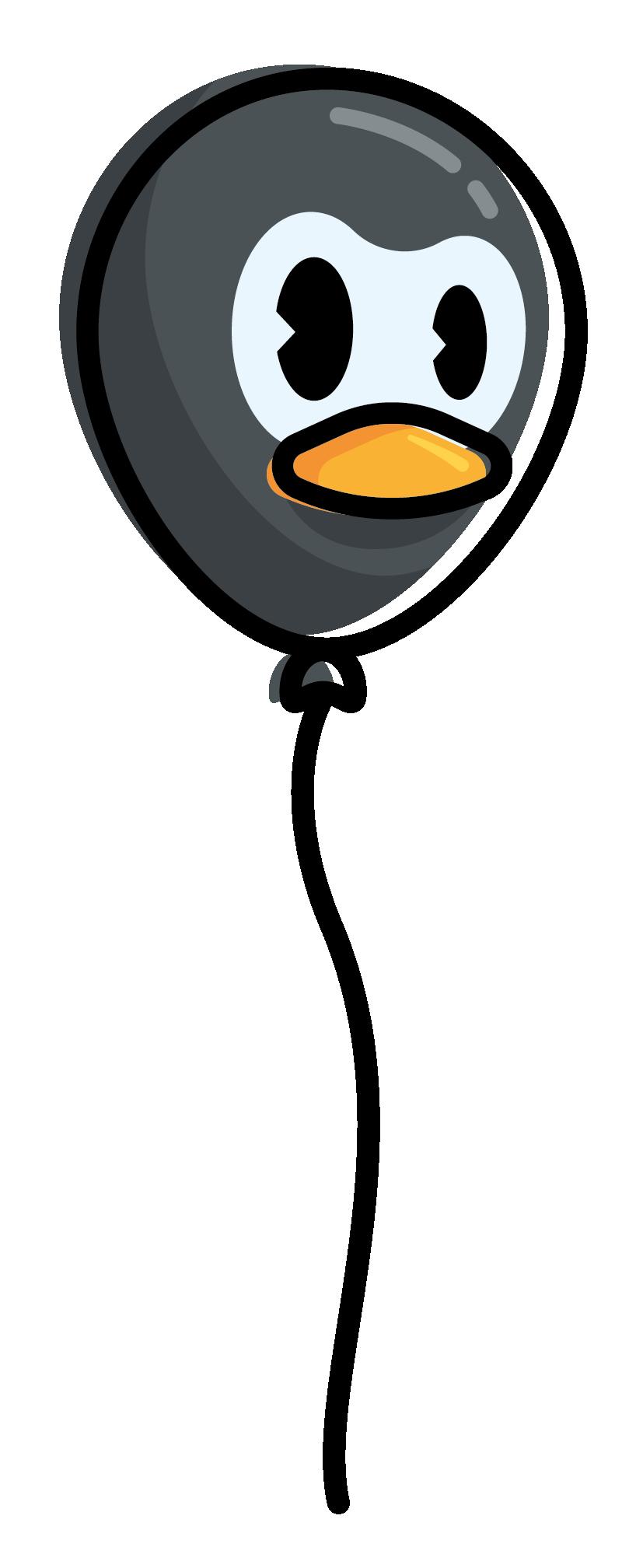 Rubber Penguin Balloon