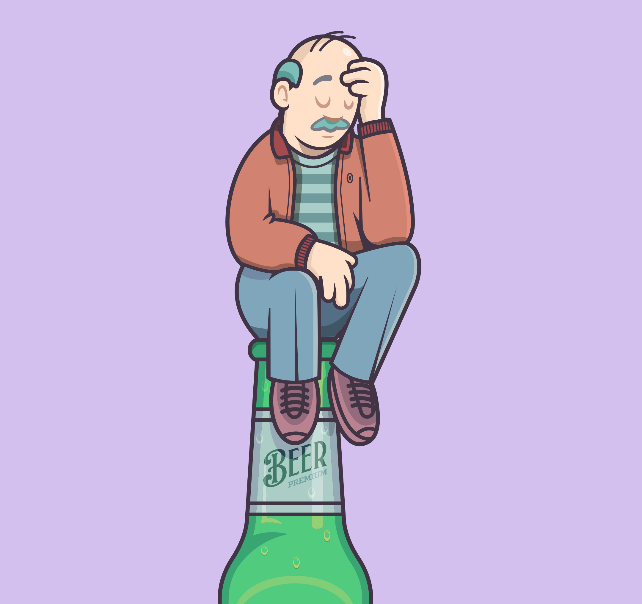 Bottled-thinker