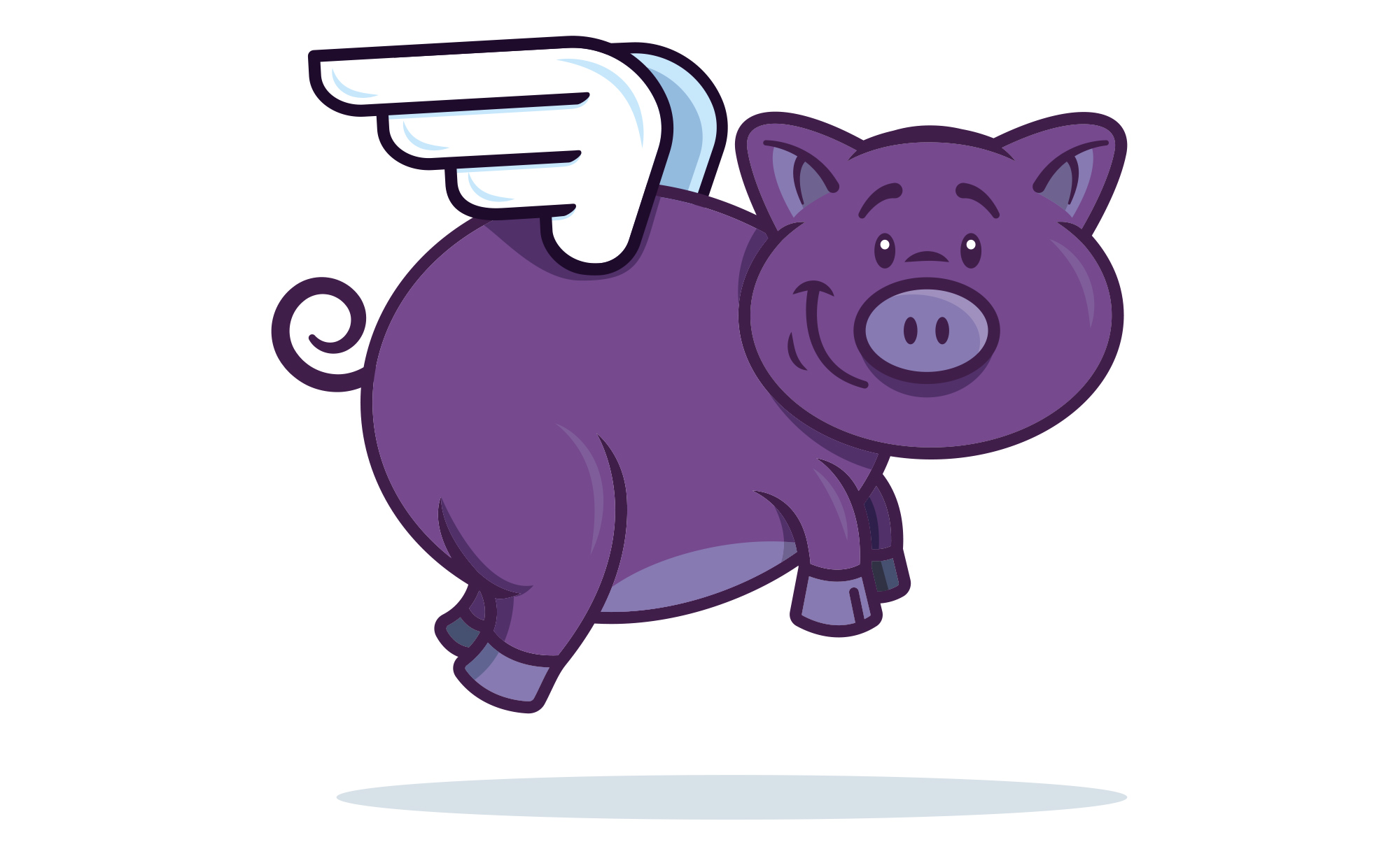 Purple-Pigs