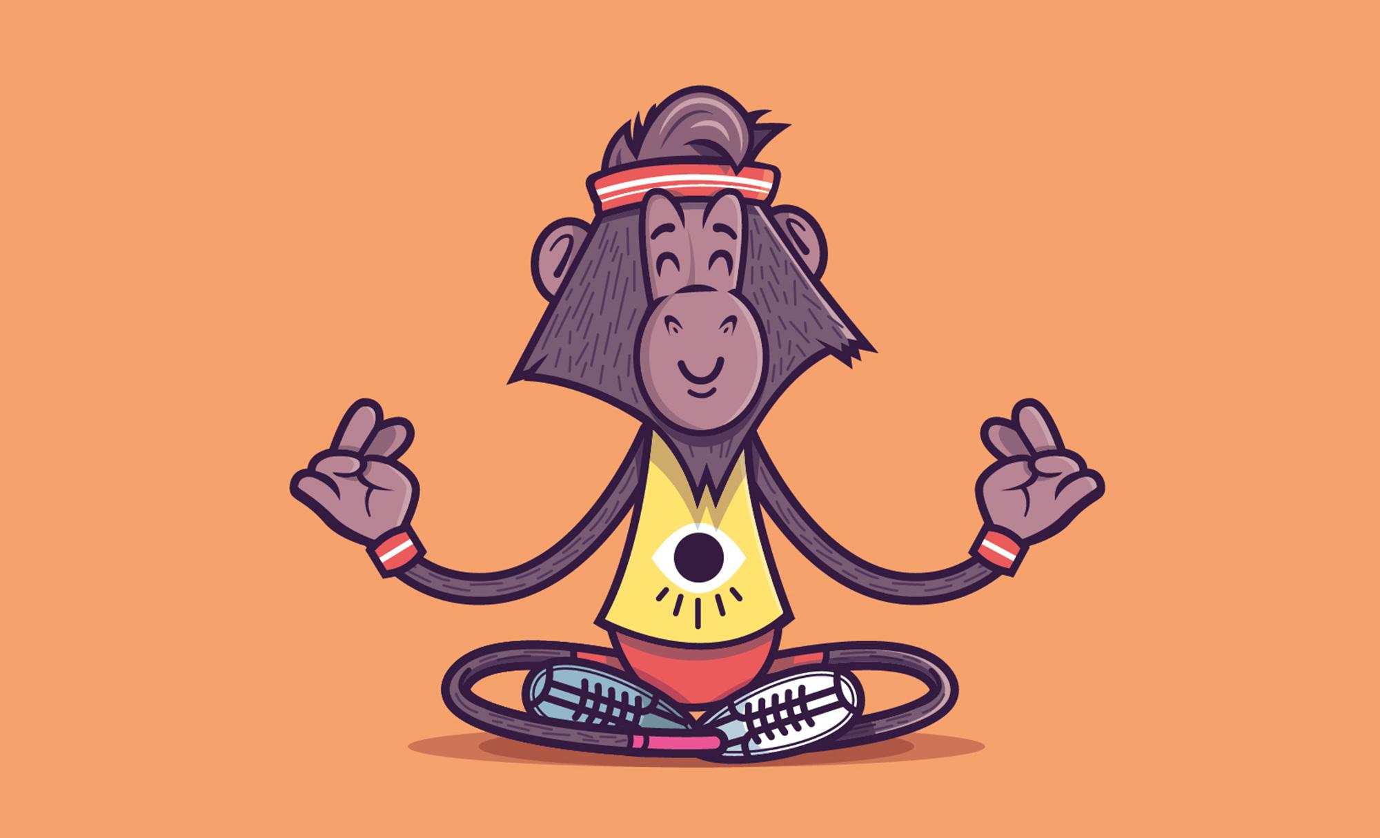 Yoga-monkey